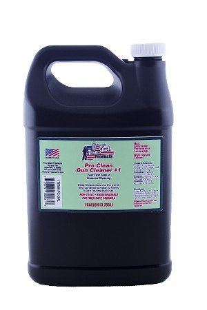 Pro Clean Gun Cleaner #1 - 1 Gallon Jug