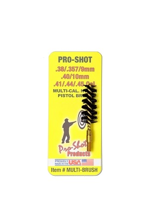 .38-.45 Cal. Nylon Pistol Brush