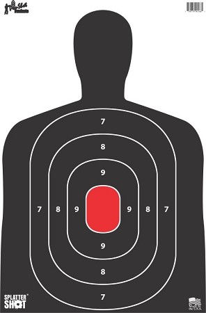 "12"" x 17"" Silhouette Target - BC27 - 8 Pack"