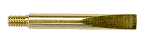 Small Brass Scraper with 8-32 Threads