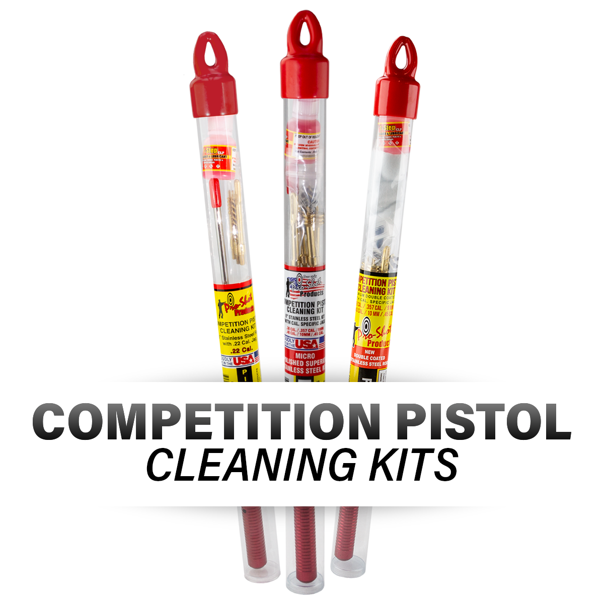 Competition Pistol Cleaning Kits
