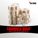 Chamber Maid .308 Cal./7.62mm Chamber Star Swabs 50 Pack