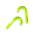 Original J Bore Light - Neon Green - 2 Pack