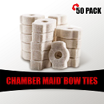 Chamber Maid Bow Tie (Bolt Action Rifle) Cleaning Swabs 50 Pack