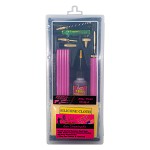 Pink Coated Rods Universal Rod Box Kit .22 Cal. - 12 GA
